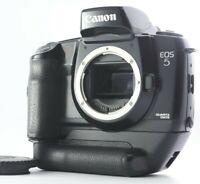 N,MINT Canon EOS 5 QD Quartz Date 35mm SLR Camera Body w/ VG10 Grip From Japan