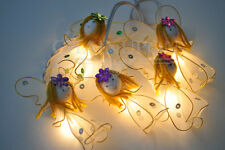 WHITE ANGEL FANCY STRING PARTY,FAIRY,KID BEDROOM,HOME,CHILDREN,DECOR,ROOM LIGHTS
