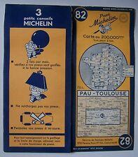 #) carte MICHELIN 82 PAU - TOULOUSE 1951 (modèle 1)