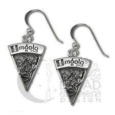 Dryad Designs Silver Sabbat  Imbolg  Earrings by Paul Borda Wiccan
