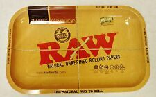 "New Full Size Raw Rolling Papers Tray 7""x11"" Metal Tray Free Shipping"