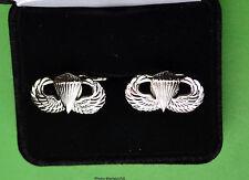 """Paratrooper Cuff Links in Presentation Gift Box Airborne (7/8"""") cufflinks"""