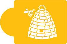 Bee Hive/Bee Skip Cake by Designer Stencils #C775