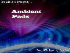 Ambient Pads - Atmospheric Pads - wav Samples - Over 800 Samples