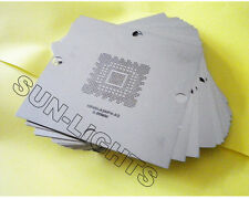 NEW 90mm 22 pcs BGA Reballing Stencils templates Games xbox 360 PS3 CPU GPU PSP