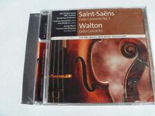 SAINT SAENS CELLO CONCERTO WALTON BBC OUT OF PRINT FREEPOST CD
