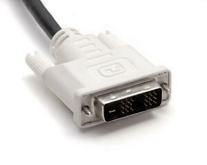 2 PACK of NEW DVI Cable M-M DVI-D 5ft Long Cord 18-Pin Monitor Cable