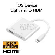 Lightning To Digital AV TV HDMI Cable Adapter For Apple iPad iPhone 6 6s 7 Plus
