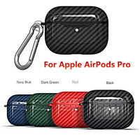 Per Apple AirPods Pro Earphone Case Cover Shell Custodia Protettiva + Buckle Set