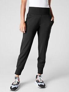 ATHLETA Venice Jogger  XS X-Small   Black Sculptek Pants #597888 NEW