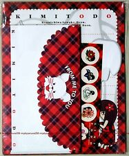 Kimi ni Todoke Letter Envelope Sticker set promo anime official sawako