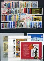 DDR Jahrgang 1975 postfrisch MNH jede MiNr 1x mit Block