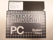 Vintage Original Amstrad PC System Disc - Disc 2 Startup v2.1U.
