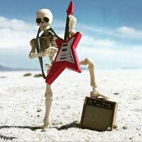 1:12 Dollhouse Instrument De Musique Guitare Micro Modèle Décor Mini Figurine