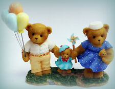 """Cherished Teddies - JOHN, EMILY and KATIE - """"2007 Member's Only Figurine"""""""