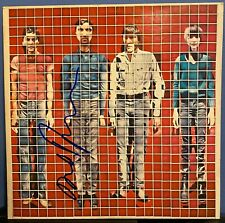 "David Byrne signed Talking Heads More Songs About Buildings and Foods 12"" album"