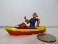 "Vintage Corgi 3"" Die Cast Popeye Boat - 1970's !"