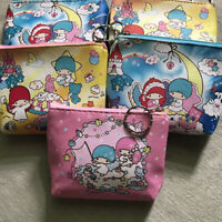 Cute Girl/'s Cinnamoroll Wallet Purse Coin ID Card Bag Clutch Buckle Snap On