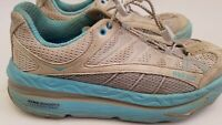 Hoka One One Mafate 2 Low Womens Running Shoe Size 8.5 Gray Blue