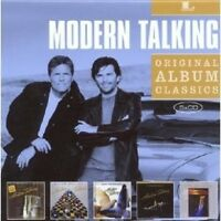 "MODERN TALKING ""ORIGINAL ALBUM CLASSICS"" 5 CD NEU"