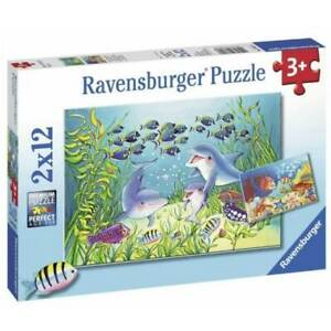 Ravensburger Puzzle - Under The Seabed - 2x12pc puzzles FREE gift wrapping