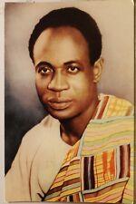 Dr Kwame Nkrumah Prime Minister Ghana Postcard Old Vintage Card View Standard PC
