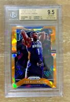 2019-20 Panini Prizm Zion Williamson Orange Ice RC SP BGS 9.5 Gem Mint