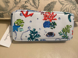 NEW! Vera Bradley Large Travel Pill Case In Anchors Aweigh ($45) FREE SHIP