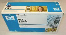 Genuine HP 74A 92274A  Toner Cartridges 4L 4ML 4P 4MP  NEW in box