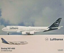 Herpa 532761 Lufthansa Boeing 747-400 - 2018 Colors