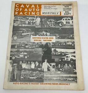 Cavalcade of Auto Racing November 1970 Eastern States 200 Special Section