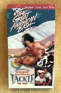 WCW THE GREAT AMERICAN BASH 1996 VHS - LEX LUGER RIC FLAIR KEVIN GREENE STING