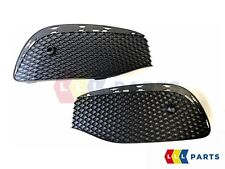 NEW GENUINE MERCEDES BENZ MB E W213 LUXURY FRONT BUMPER LOWER GRILL SET PAIR