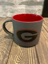 Spirit Products Georgia Bulldogs Gray Red Graphite Coffee Mug Gift