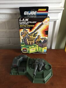 1990 Hasbro GI Joe L.A.W. Battle Station Set w / Box