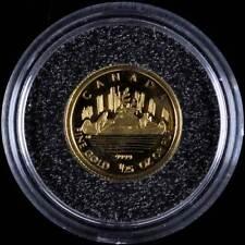46135) *50 Cents, 2005, Gold, Kanadier-das klassische Kanu, PP