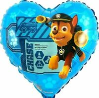 10x r5f11 Helium folienballons Paw Patrol everest Sport perro jogging regalo nuevo