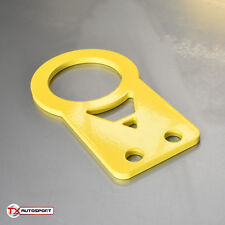 Flat JDM Honda Civic Type-R Mazda Mitsubishi Universal Tow Hook Eye - Yellow