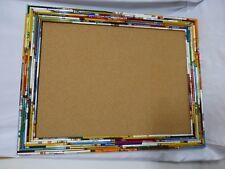 "Hand Made Pencil Frame Bulletin Board 24 x 32"""
