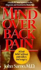 Mind over Back Pain by John E. Sarno (1986, Paperback)
