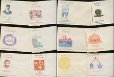 INDIA 1960s...20 ILLUSTRATED ENVELOPES for FDCs PRINTED POSTS + TELEGRAPHS Lot 3