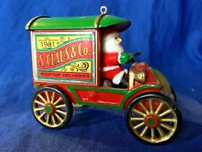 Hallmark Christmas Ornament 1981 S. Claus & Co. Rooftop Deliveries