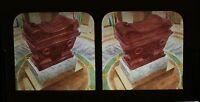 Tombeau Da Napoleone Invalides Parigi Stereo Diorama Tessuto Vintage Albumina