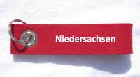 Niedersachsen Filz Schlüsselband Lanyard NEU (A1.1)
