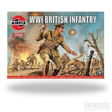 Airfix 1/76 British Infantry WWI Vintage Classic Series A00727