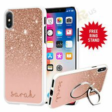 Personalised Phone Case Cover & Finger Ring Stand Holder For Top Mobiles 073-4