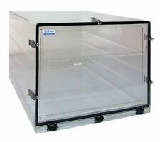 Cleatech Desiccator Dry Cabinet12x12x12acrylic Withshelf Acrylic Gas Ports