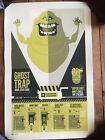 2010 Ghostbusters Art Print Halloween Slimer 12/15 G1988 Tom Whalen Sdcc Mondo