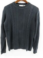Concepts by Claiborne Mens Sweater Crew Neck Long Sleeve Gray Size S  #7228