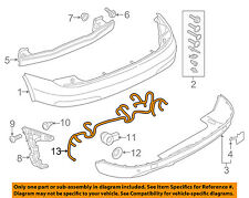 AUDI OEM 2015 Q3 Rear Bumper-Wire Harness 8U1971104P